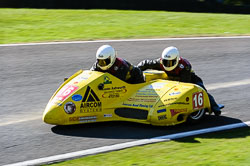 Gordon Shand & Phil Hyde, FSRA,  Derby Phoenix, Cadwell Park, May 2013