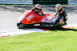 Nicky Dukes & William Moralee, FSRA,  Derby Phoenix, Cadwell Park, May 2013