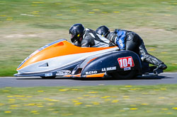 Frank Lelias & Mike Aylott, FSRA,  Derby Phoenix, Cadwell Park, May 2013