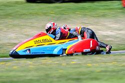 Ian Bell & Carl Bell, FSRA,  Derby Phoenix, Cadwell Park, May 2013