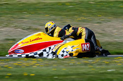 John Lowther & Jake Lowther, FSRA,  Derby Phoenix, Cadwell Park, May 2013