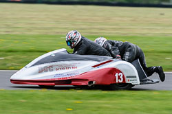 Steve Broadstock & Terry Trueman, EMRA Sidecars, Cadwell Park, May 2013