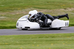 Kevin Hunt & Alan Cracknell, Classic Sidecars, CRMC, Cadwell Park