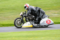 Mark Kilner & Morgan Thomas, Classic Sidecars, CRMC, Cadwell Park