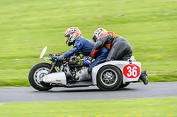 Chris Adams & Bruce Pope, Classic Sidecars, CRMC, Cadwell Park