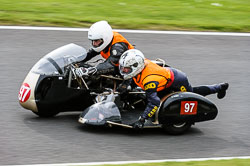 Jeffrey Smith & Evelyn Fox, Classic Sidecars, CRMC, Cadwell Park