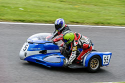 Rodney Chapman & Darren Chapman, Classic Sidecars, CRMC, Cadwell Park