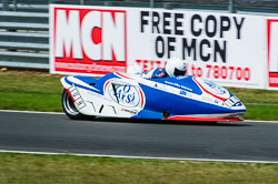Ricky Stevens & Ryan Charwood, British F1 Sidecar, Snetterton, 2013-07