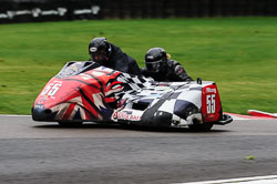 Julian Cole & Anne Garnish, BMCRC, Cadwell Park, 2013-09