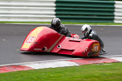 Paul Lumley & Ray Whitnall, BMCRC, Cadwell Park, 2013-09