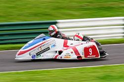 Conrad Harrison & Lee Patterson, Auto66, Cadwell Park, 2013-10