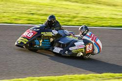 Mark Saunders & Lee Woodward, Derby Phoenix, Cadwell Park, 2013-10