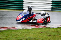 Daryl Gibson and Ashley Moore at Auto66, Cadwell Park, Lincolnshire, April 2018. Photo: Neil Houltby