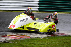John Lowther and Nigel Lowther at Auto66, Cadwell Park, Lincolnshire, April 2018. Photo: Neil Houltby