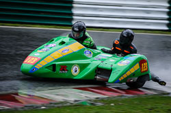 Richard Hackney and Jayne Morris at Auto66, Cadwell Park, Lincolnshire, April 2018. Photo: Neil Houltby