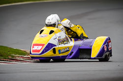 Sean Hegarty and James Neave at Auto66, Cadwell Park, Lincolnshire, April 2018. Photo: Neil Houltby