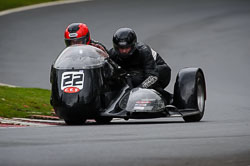 Simon Christie and Glenn Dawson at Auto66, Cadwell Park, Lincolnshire, April 2018. Photo: Neil Houltby