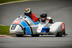 Billy Pearson and Joe Gaunt at Auto66, Cadwell Park, Lincolnshire, April 2018. Photo: Neil Houltby