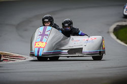 Hayley Capewell and Helen Deeley at Auto66, Cadwell Park, Lincolnshire, April 2018. Photo: Neil Houltby