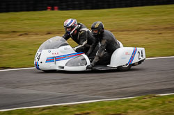 Tony Thirkell and Trevor Johnson at Auto66, Cadwell Park, Lincolnshire, April 2018. Photo: Neil Houltby