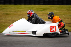 Mick Smith and James Dobie at Auto66, Cadwell Park, Lincolnshire, April 2018. Photo: Neil Houltby