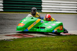 Andy Wilby and Paul Lowther at Auto66, Cadwell Park, Lincolnshire, April 2018. Photo: Neil Houltby