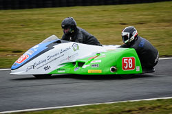 John Chandler and Doug Chandler at Auto66, Cadwell Park, Lincolnshire, April 2018. Photo: Neil Houltby