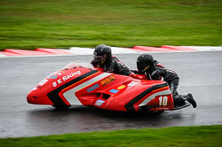 Howard Baker and Mike Killingsworth at MRO, Cadwell Park, Lincolnshire, April 2018. Photo: Neil Houltby