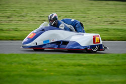Dean Dickinson and Ben Dickinson at MRO, Cadwell Park, Lincolnshire, April 2018. Photo: Neil Houltby
