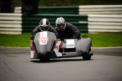 Marc Vannieuwenhuyse and Rik Vannieuwenhuyse at MRO, Cadwell Park, Lincolnshire, April 2018. Photo: Neil Houltby