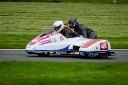 Harry Payne and Lizzie Quinlan at MRO, Cadwell Park, Lincolnshire, April 2018. Photo: Neil Houltby