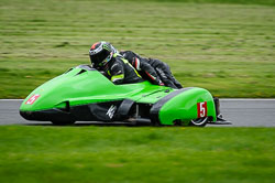Ben Taylor and Kevin Field at MRO, Cadwell Park, Lincolnshire, April 2018. Photo: Neil Houltby