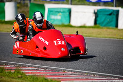 Kirby and Graves at EMRA, Mallory Park, Leicestershire, May 2018. Photo: Neil Houltby