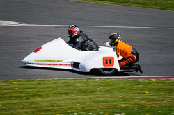 Mick Smith and Jamie Dobie at EMRA, Mallory Park, Leicestershire, May 2018. Photo: Neil Houltby