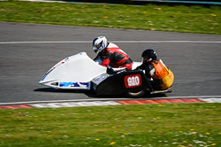 Lee Chadwick and S Fairclough at EMRA, Mallory Park, Leicestershire, May 2018. Photo: Neil Houltby