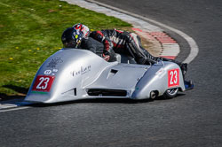 Mike Cookson and William Moralee at EMRA, Mallory Park, Leicestershire, May 2018. Photo: Neil Houltby