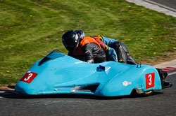 Chandler and Ben Chandler at EMRA, Mallory Park, Leicestershire, May 2018. Photo: Neil Houltby