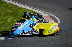 Roy Tansley and Jason O'Conner at EMRA, Mallory Park, Leicestershire, May 2018. Photo: Neil Houltby