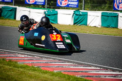 Richard Lumley and Ray Whitnall at EMRA, Mallory Park, Leicestershire, May 2018. Photo: Neil Houltby