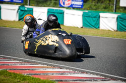 David Schofield and Kieron Phillips at EMRA, Mallory Park, Leicestershire, May 2018. Photo: Neil Houltby