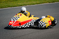 John Lowther and Jake Lowther at EMRA, Mallory Park, Leicestershire, May 2018. Photo: Neil Houltby