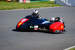 Kevin Morgan and Steve Morgan at EMRA, Mallory Park, Leicestershire, May 2018. Photo: Neil Houltby