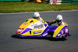 Sean Hegarty and James Neave at EMRA, Mallory Park, Leicestershire, May 2018. Photo: Neil Houltby