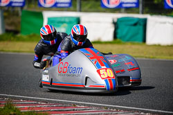 Jody Sims and Reece Sims at EMRA, Mallory Park, Leicestershire, May 2018. Photo: Neil Houltby