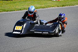 Steve Alexander and Steve Woolcott at EMRA, Mallory Park, Leicestershire, May 2018. Photo: Neil Houltby