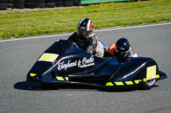 Dave Tibbles and Raitch Greenwood at EMRA, Mallory Park, Leicestershire, May 2018. Photo: Neil Houltby