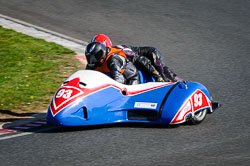 Butcher and Robinson at EMRA, Mallory Park, Leicestershire, May 2018. Photo: Neil Houltby