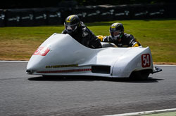 Mick Smith and James Dobie at Auto66, Cadwell Park, Lincolnshire, July 2018. Photo: Neil Houltby