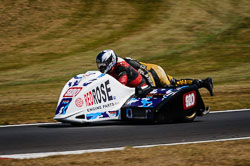 Lee Chadwick and Steve Fairclough at Auto66, Cadwell Park, Lincolnshire, July 2018. Photo: Neil Houltby