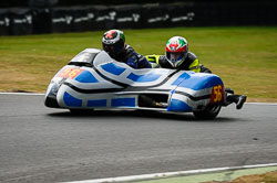 Billy Pearson and Arlo Brown at Auto66, Cadwell Park, Lincolnshire, July 2018. Photo: Neil Houltby
